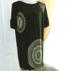 mid length fully lined classic dress.